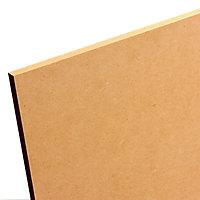 Smooth Softwood Medium-density fibreboard (MDF) Board (L)2.44m (W)1.22m (T)9mm
