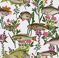 Holden Décor K2 Multicolour Lagoon Smooth Wallpaper
