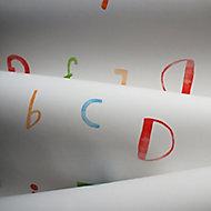 Holden Décor Multicolour Alphabet Smooth Wallpaper