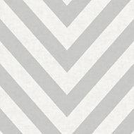 Holden Logan Grey Chevron Wallpaper