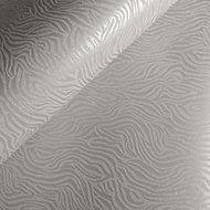 Holden Décor Statement Grey Animal print Textured Wallpaper