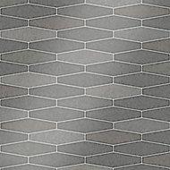 Holden Décor Grey Tile effect Blown Wallpaper