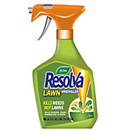 Resolva Ready to use Lawn weed killer spray 1L