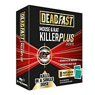 5023377005565 DEADFAST MOUSE&RAT KILLER PLUS 8 SCHTS