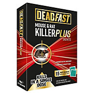 Deadfast Plus Rodenticide sachets 150g