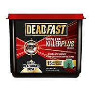 5023377005589 DEADFAST MOUSE&RAT KILLER 15BLOCK TUB