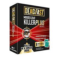 Deadfast Plus Sachet Rodenticide 80g