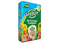 Gro-Sure 4 month feed Multi-purpose Compost 50L