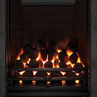Focal Point Soho full depth Black Gas Fire