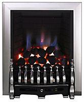 Focal Point Blenheim Black Chrome effect Gas Fire