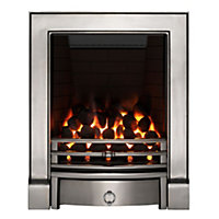 Focal Point Soho full depth Chrome effect Gas Fire