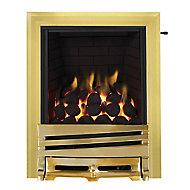 Focal Point Horizon Brass effect Gas Fire