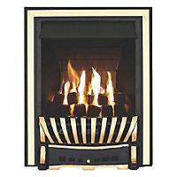 Focal Point Elegance multi flue Black Gas fire
