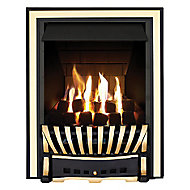 Focal Point Elegance Multi flue Brass effect Gas Fire