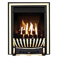 Focal Point Elegance Multi flue Brass effect Gas Fire
