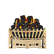 Focal Point Elegance Brass effect Gas Fire tray