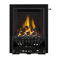 Focal Point Elegance Full depth Black Gas Fire