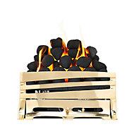 Focal Point Horizon Brass effect Gas Fire tray