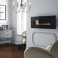 Focal Point Vesuvius Black granite Gas Fire