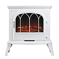 Focal Point Leirvik White Electric Stove