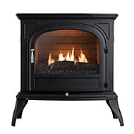 Focal Point Dalvik Black Gas Stove
