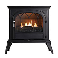 Focal Point Leirvik Black 3.1kW Gas Stove