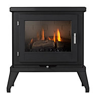 Focal Point Svelvik Black 3.1kW Gas Stove