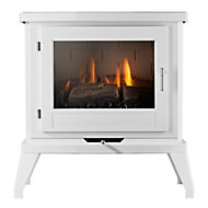 Focal Point Svelvik White 3.1kW Gas Stove