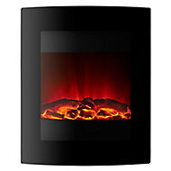 Focal Point Ebony Glass effect Electric Fire