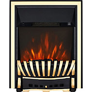 Focal Point Elegance Brass effect Electric Fire