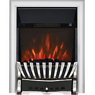 Focal Point Elegance Chrome effect Electric Fire