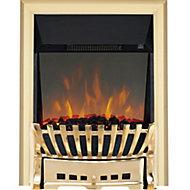 Focal Point Elegance Brass effect Electric Fire