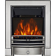 Focal Point Soho Chrome effect Electric Fire