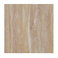 Focal Point Limestone & sandstone Stone effect Laminate Back panel (H)930mm (W)930mm