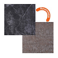 Focal Point Granite & stone Stone effect Laminate Back panel (H)930mm (W)930mm
