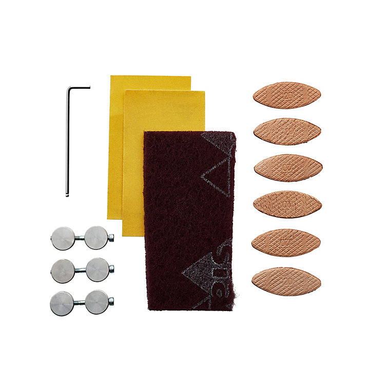 Laminate worktop installation kit