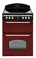 Leisure GRB6CVR Electric Range cooker with Electric Hob