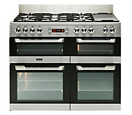 Leisure CS110F722X Freestanding Dual fuel Range cooker with Gas Hob