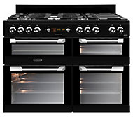 Leisure Cuisinemaster CS110F722K Freestanding Dual fuel Range cooker with Gas Hob