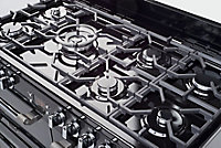 Leisure CK110F232K Freestanding Dual fuel Range cooker with Gas Hob