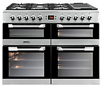 Leisure CS100F520X Freestanding Dual fuel Range cooker with Gas Hob