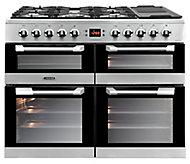 Leisure Cuisinemaster CS100F520X Freestanding Dual fuel Range cooker with Gas Hob