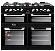 Leisure CS100F520K Freestanding Dual fuel Range cooker with Gas Hob