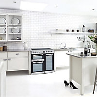 Leisure Cuisinemaster CS90C530X Freestanding Electric Range cooker with Ceramic Hob