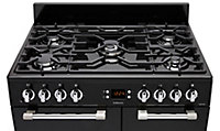 Leisure CK90F232K Freestanding Dual fuel Range cooker with Gas Hob