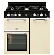 Leisure Cookmaster CK90F232C Freestanding Dual fuel Range cooker with Gas Hob