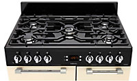 Leisure CK90F232C Freestanding Dual fuel Range cooker with Gas Hob