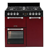 Leisure CK90F232R Freestanding Dual fuel Range cooker with Gas Hob