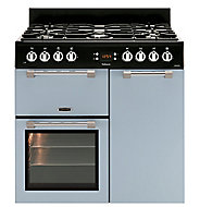 Leisure CK90F232B Freestanding Dual fuel Range cooker with Gas Hob