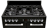 Leisure CK90G232K Freestanding Dual fuel Range cooker with Gas Hob